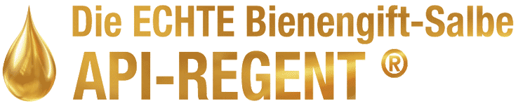 Logo Die ECHTE Bienengift Salbe API-REGENT